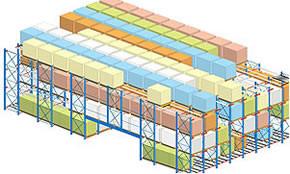case picking - Semi Automated Storage and Retrieval Systems