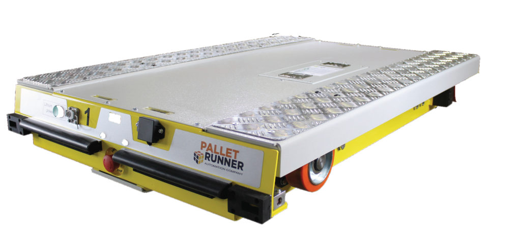 pallet runner 1 1024x479 - Semi / Fully Automated Storage and Retrieval Systems