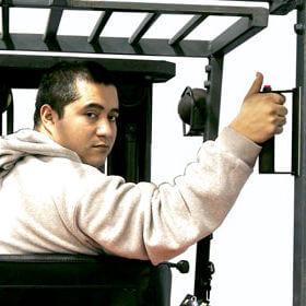 ErgoBackupHandle - Forklift Safety