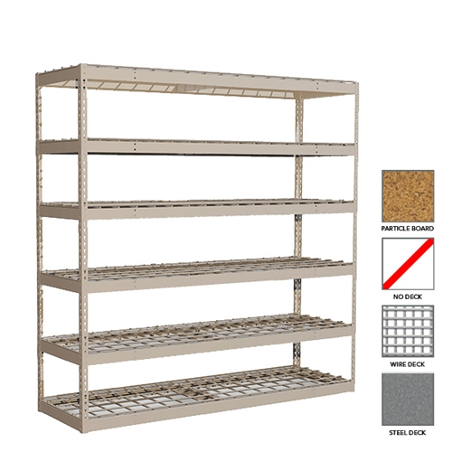 Schaefer-Heavy-Duty-Rivet-shelving Heavy Duty Shelving
