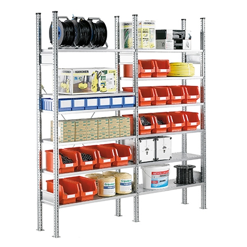 Schaefer-R3000-Industrial-Shelving Heavy Duty Shelving