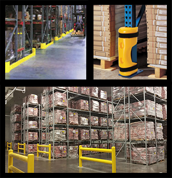small safety collage - 6 Ways to Add Safety to Your Warehouse