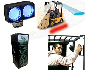 forklift safety accessories - 4 Ways to Make Forklifts Safer