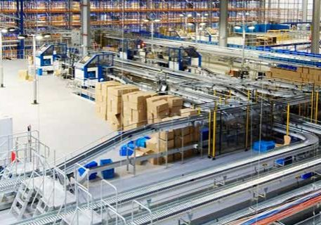 warehouse distribution landscape - Material Handling Systems | Design, Supply, and Installation | Mathand
